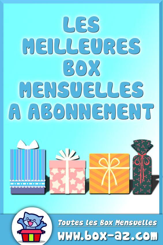 Box Mensuelles a abonnement