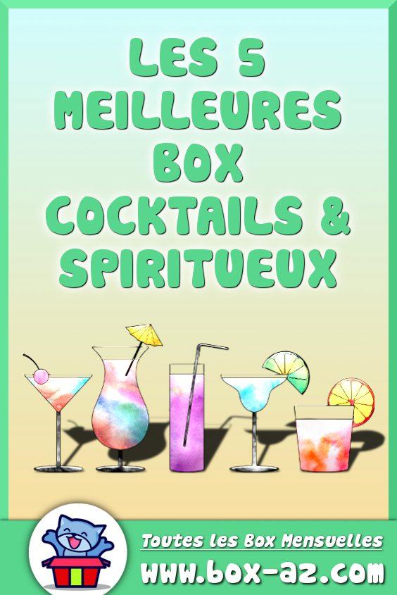 Box cocktails et spiritueux
