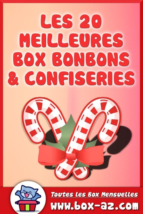 Box bonbon et confiserie