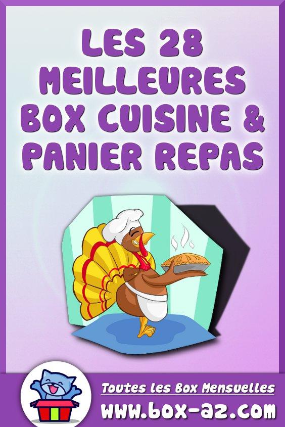 Box cuisine et panier repas