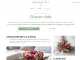 Le Flower Club Bergamotte