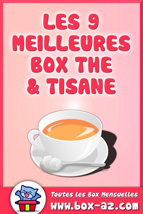 Box thé et tisane