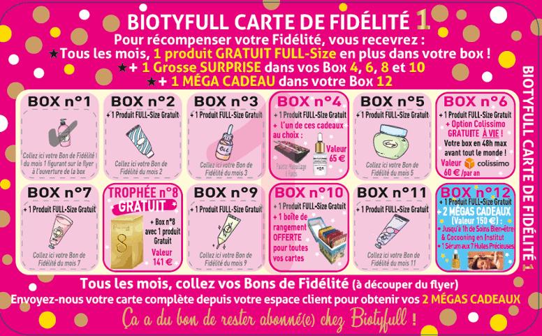 Carte fidelite biotyfull box 1