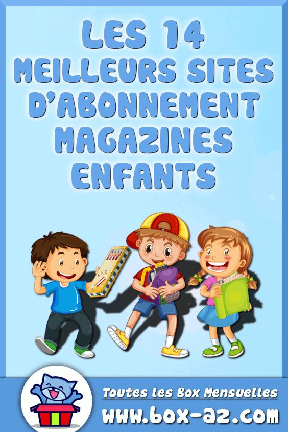 Meilleures abonnements magazines enfants