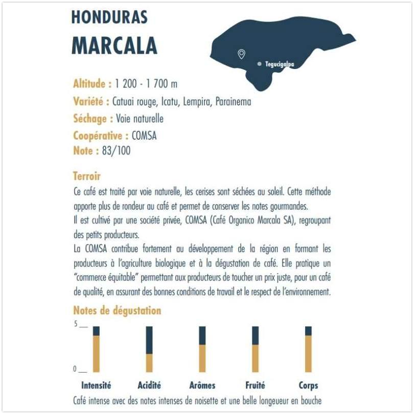 Cafe Honduras Marcala