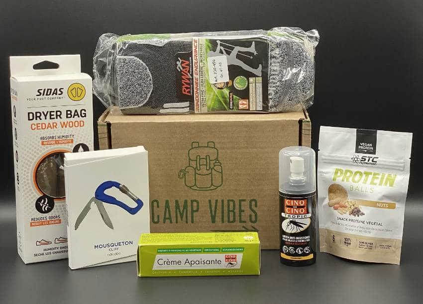 Camp Vibes box