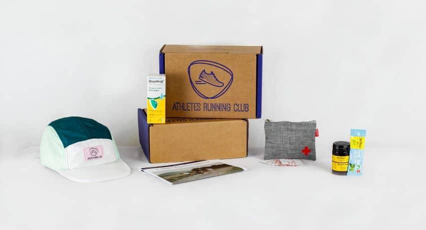 Athletes running club box aout 2021